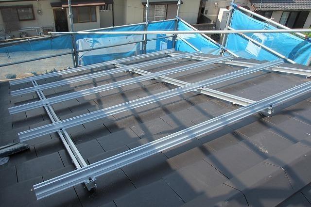 太陽光パネルの架台取付