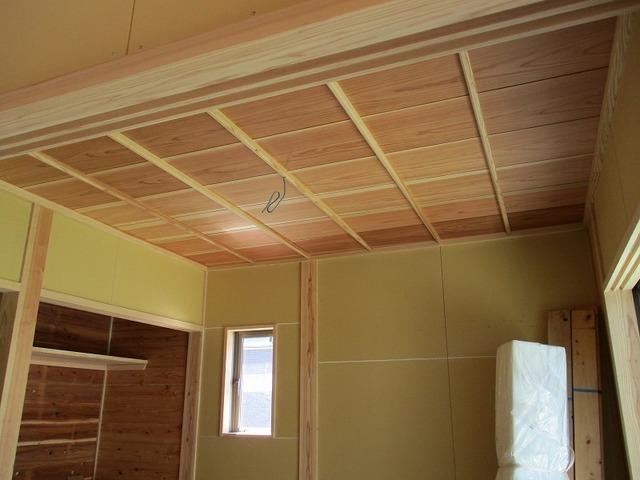 和室のイナゴ天井